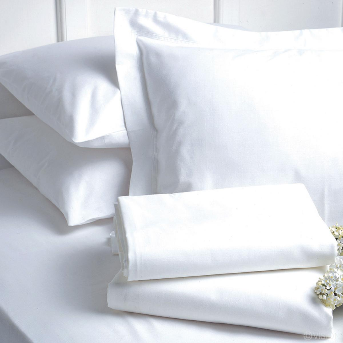 200 Tc Cotton Polyester Blend Flat Bed Sheet